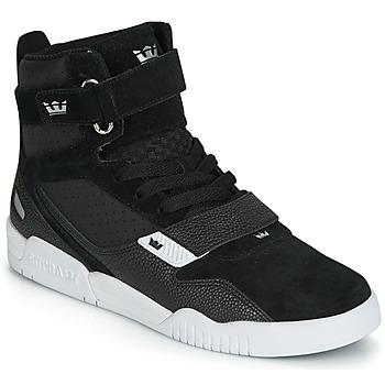 Sapatos Homem Sapatilhas de cano-alto Supra BREAKER Preto