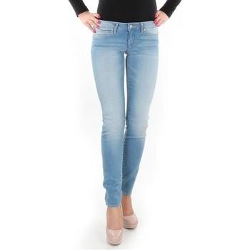 Textil Mulher Gangas Skinny Wrangler Caitlin Blue Baloo W24CH145X blue