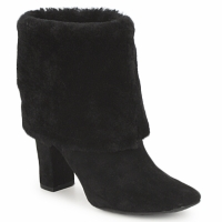 Sapatos Mulher Botins Rockport HELENA CUFFED BOOTIE Preto