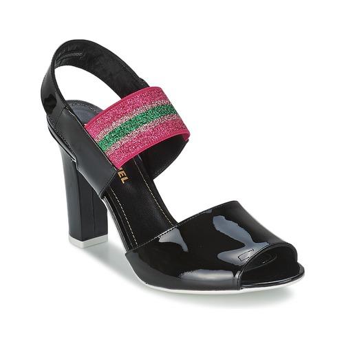 Sapatos Mulher Sandálias Sonia Rykiel 683902 Preto / Rosa