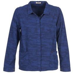 Textil Mulher Casacos/Blazers Lee CAMO Azul