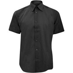 Textil Homem Camisas mangas curtas Russell 923M Preto
