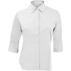 Textil Mulher camisas Russell 926F Branco