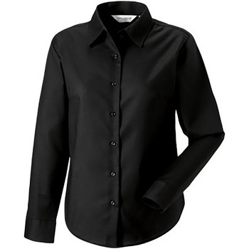 Textil Mulher camisas Russell 932F Preto