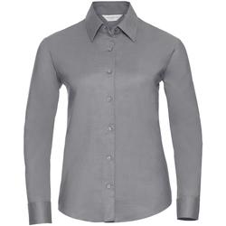 Textil Mulher camisas Russell 932F Prata