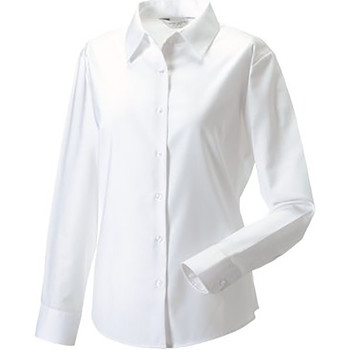 Textil Mulher camisas Russell 932F Branco