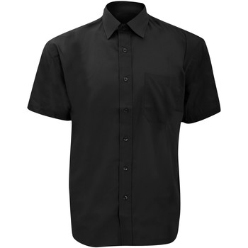 Textil Homem Camisas mangas curtas Russell 935M Preto