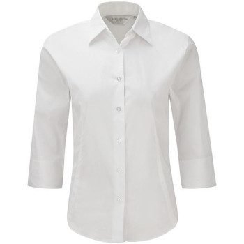 Textil Mulher camisas Russell 946F Branco