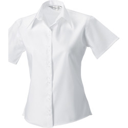 Textil Mulher camisas Russell 957F Branco