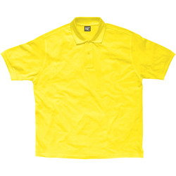 Textil Rapaz Polos mangas curta Sg SG59K Amarelo
