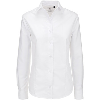 Textil Mulher camisas B And C SWO03 Branco