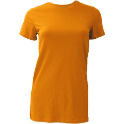 Textil Mulher T-Shirt mangas curtas Bella + Canvas BE6004 Orange