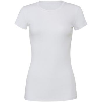 Textil Mulher T-Shirt mangas curtas Bella + Canvas BE6004 Branco