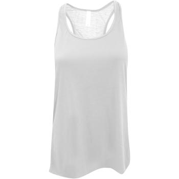 Textil Mulher Tops sem mangas Bella + Canvas BE8800 Branco