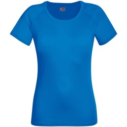Textil Mulher T-Shirt mangas curtas Fruit Of The Loom 61392 Real