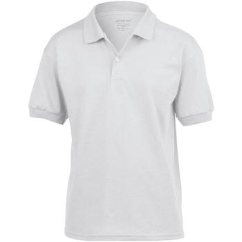 Textil Criança Polos mangas curta Gildan 8800B Branco