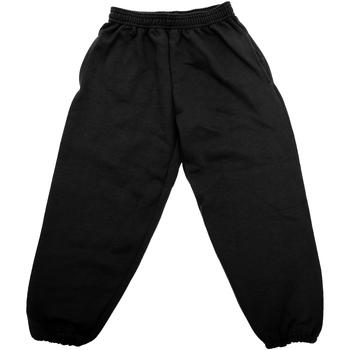 Textil Criança Calças de treino Jerzees Schoolgear 750B Preto