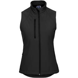 Textil Mulher Casacos de malha Russell R141F Preto