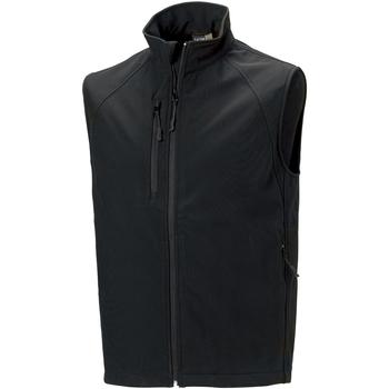 Textil Homem Casacos de malha Russell Soft Shell Preto