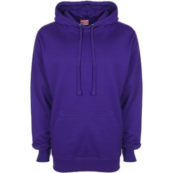 Textil Homem Sweats Fdm FH001 Púrpura