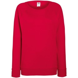 Textil Mulher Sweats Fruit Of The Loom 62146 Vermelho
