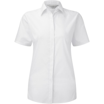 Textil Mulher camisas Russell 961F Branco