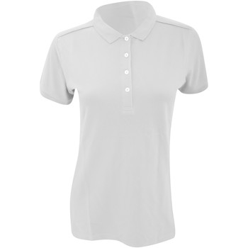 Textil Mulher Polos mangas curta Russell 566F Branco