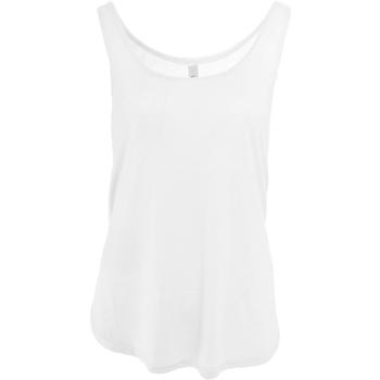 Textil Mulher Tops sem mangas Bella + Canvas BE8802 Branco