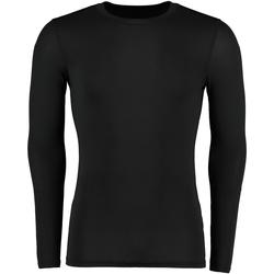 Textil Homem T-shirt mangas compridas Gamegear Warmtex Preto