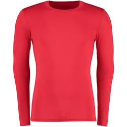 Textil Homem T-shirt mangas compridas Gamegear Warmtex Vermelho