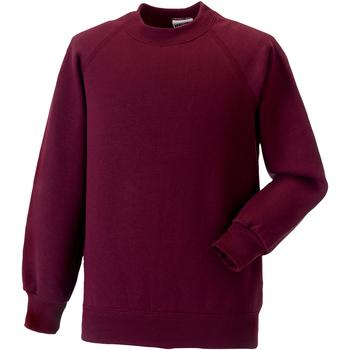 Textil Criança Sweats Jerzees Schoolgear 7620B Borgonha