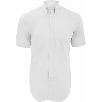 Textil Homem Camisas mangas curtas Kustom Kit KK109 Branco
