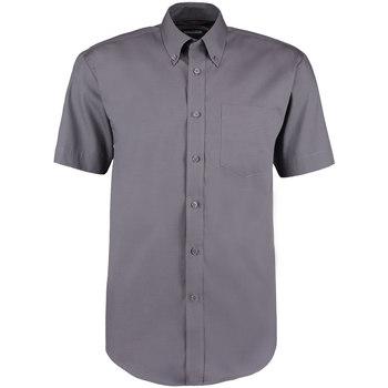 Textil Homem Camisas mangas curtas Kustom Kit KK109 Carvão vegetal