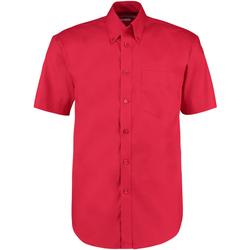 Textil Homem Camisas mangas curtas Kustom Kit KK109 Vermelho
