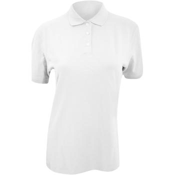 Textil Mulher Polos mangas curta Kustom Kit KK705 Branco