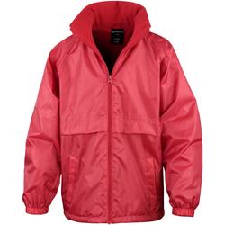Textil Criança Corta vento Result R203JY Vermelho
