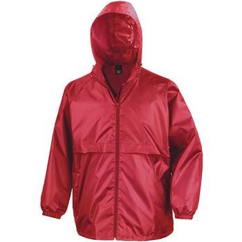 Textil Homem Corta vento Result Windcheater Vermelho