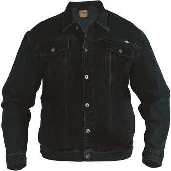 Textil Homem casacos de ganga Duke  Preto