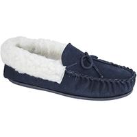 Sapatos Mulher Chinelos Mokkers  Marinha
