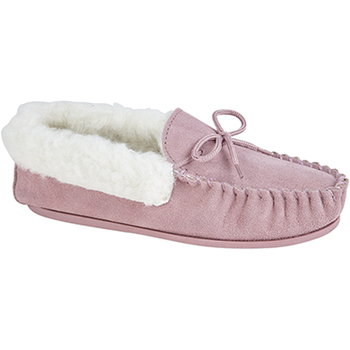 Sapatos Mulher Chinelos Mokkers  Pink