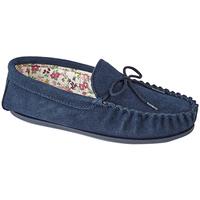Sapatos Mulher Chinelos Mokkers Lily Marinha