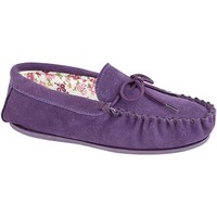 Sapatos Mulher Chinelos Mokkers Lily Púrpura