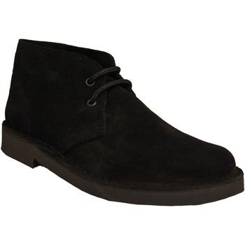 Sapatos Homem Botas baixas Roamers  Preto