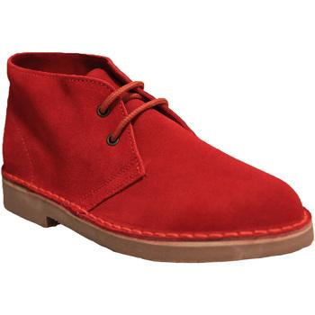 Sapatos Homem Botas baixas Roamers  Vermelho