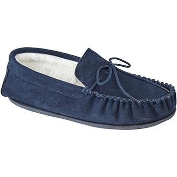 Sapatos Homem Chinelos Mokkers  Marinha