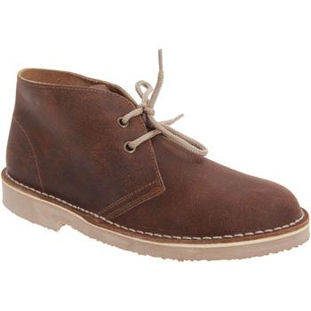 Sapatos Rapaz Botas baixas Roamers  Brown