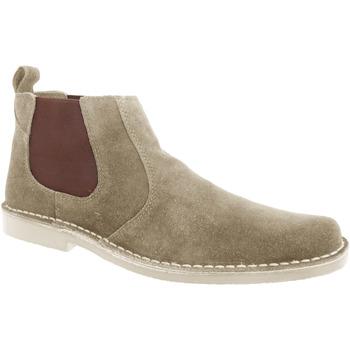 Sapatos Homem Botas baixas Roamers  Taupe