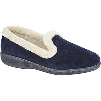 Sapatos Mulher Chinelos Sleepers  Marinha