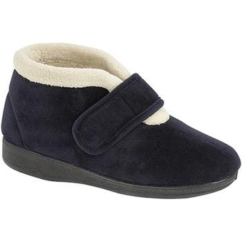 Sapatos Mulher Chinelos Sleepers Amelia Marinha