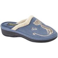 Sapatos Mulher Chinelos Boulevard  Marinha
